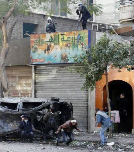 Una mano oscura dietro la rivolta egiziana?