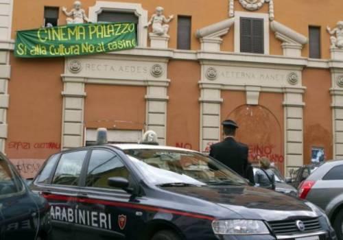 [Roma] Sgombero all'ex Cinema Palazzo