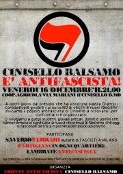 Cinisello è Antifascista!