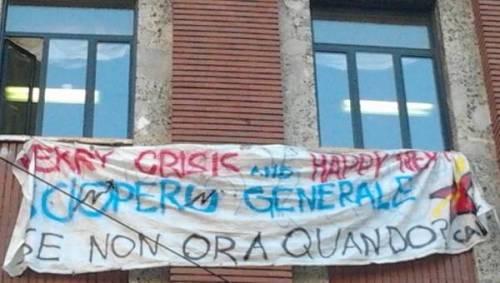 MERRY CRISIS AND HAPPY NEW FEAR!  SCIOPERO GENERALE SE NON ORA QUANDO??