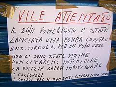 Bomba carta al Circolo ARCI Itaca e PD di Quarto Oggiaro: sfiorata la strage.