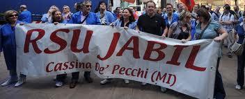 Jabil, la lotta non si ferma!