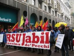 JABIL CASSINA DE PECCHI: NON SI FIRMA PER CHIUDERE LO STABILIMENTO
