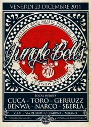 """ZAM – VENERDI 23 DICEMBRE  JUNGLE BELLS 2011 """"The Xmassive Bass Music Party in Town"""""""