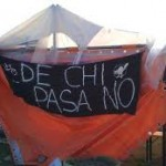 Un presidio permanente contro la Tem anche in Zona Sud (foto, video e art. stampa locale)