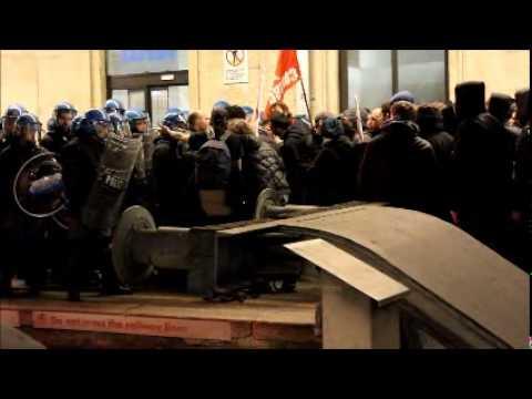NoTav: cariche in Porta Nuova – I video