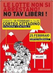 18.02.2012 – CORTEO NO TAV || h14:00 Stazione Centrale Milano