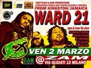 Venerdì 2 marzo 2012 – ZAGA ZAM, International reggae contro razzismi e Omofobia: WARD 21