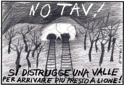 La TAV e lo sviluppo insostenibile