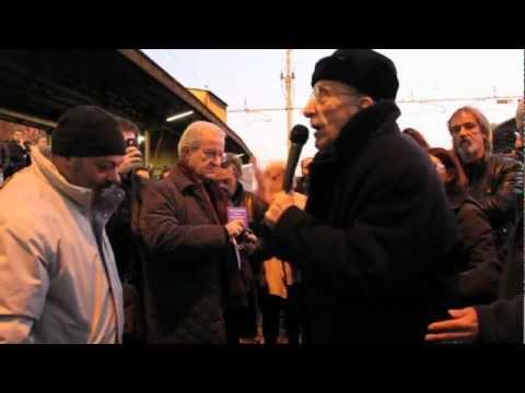 Don Gallo al Binario 21 (video)