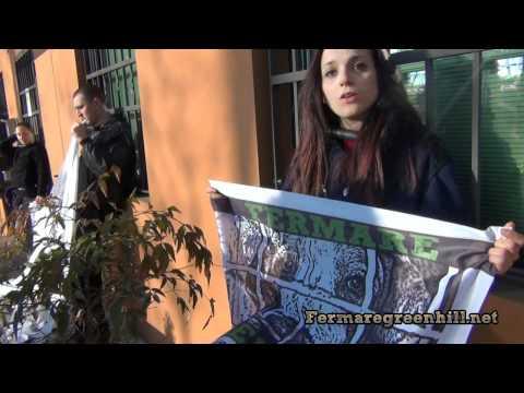 Fermare Green Hill: Azione a Montichiari