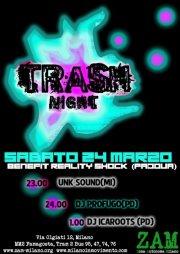 Sabato 24 Marzo dalle 23 – TRASH NIGHT Dj universitari contest: Milano vs Padova @ Z.A.M.