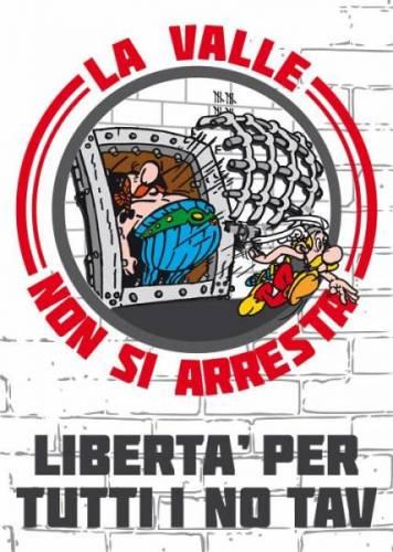 Niccolò Libero, Liberi Tutti! Solidarietà con la Valsusa bene comune!