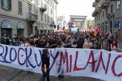 BLOCKUPY MILANO: VERSO FRANCOFORTE, PER UN MAGGIO GLOBALE DI LOTTA