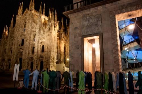Morti bianche: Cento tute vuote in Duomo, intervista a G.A. Benvenuto