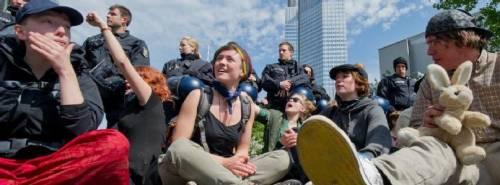 Blockupy Francoforte – 18 Maggio [Aggiornamenti in diretta]