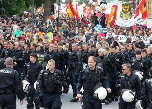 Repubblica e Blockupy: fonti e scoop