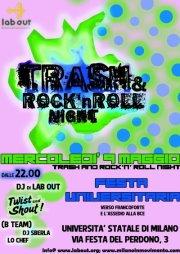 Mercoledì 9 Maggio – Trash & Rock'n Roll Party – II festa universitaria @ Statale Milano