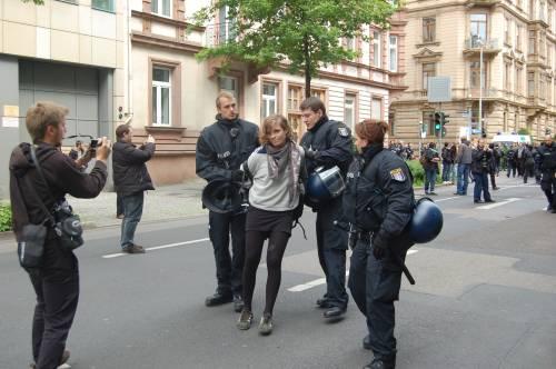 Blockupy Francoforte – 19 maggio (Aggiornamento in diretta)