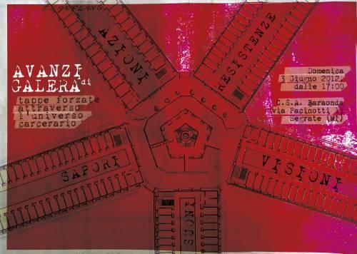 Avanzi di galera- 3 giugno 2012, csa Baraonda