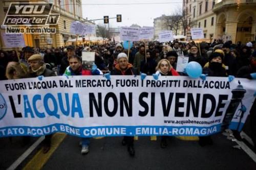 """""""Acqua, lotta comune"""" in Consiglio Comunale a Roma"""