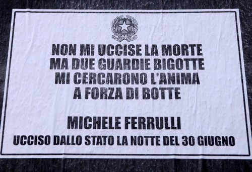 In ricordo di Michele Ferrulli
