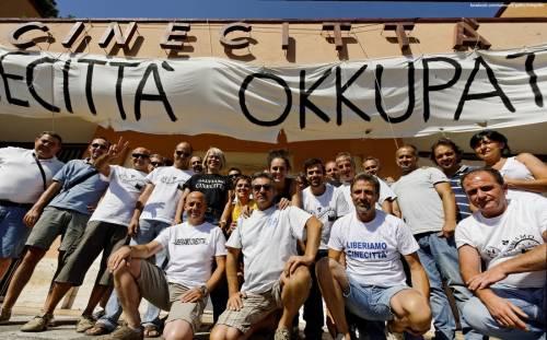Save Cinecittà: due mesi di sciopero e presidio permanente dei lavoratori del cinema!