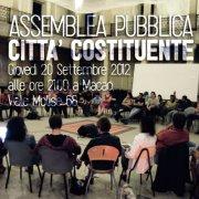 Assemblea Pubblica – Città Costituente
