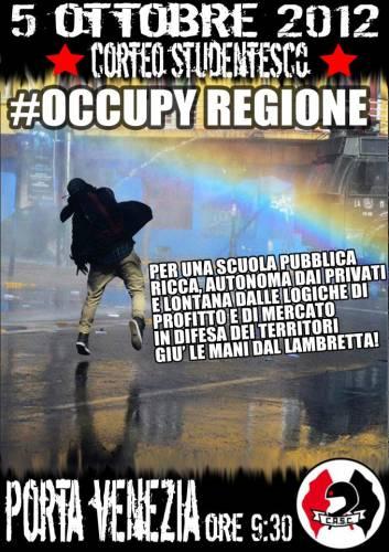 Comunicato C.A.S.C. ISTRUZIONE BENE COMUNE! #OCCUPY REGIONE