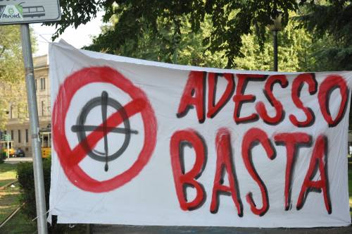 Il degrado crea degrado – Sull'occupazione fascista a Milano.