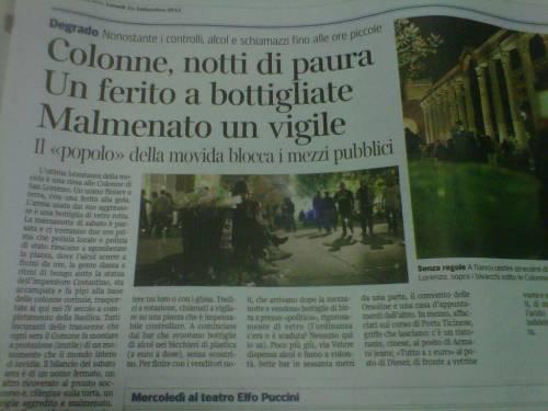Colonne di san Lorenzo: Le 5 M del Corriere Milano