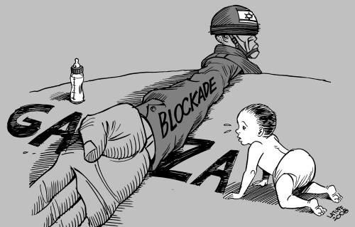 Da Nena News: Gaza, un giovane si dà fuoco per disperazione