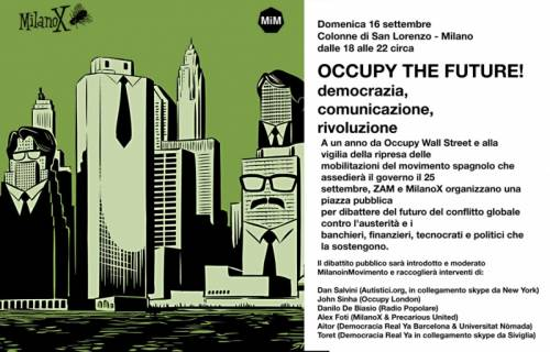 Diretta streaming da Occupy Colonne