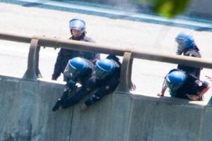 Il 3 Luglio furono lanciati (mirando) 4357 lacrimogeni contro i notav