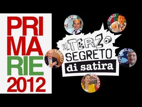 Primarie 2012 – Il Terzo Segreto di Satira