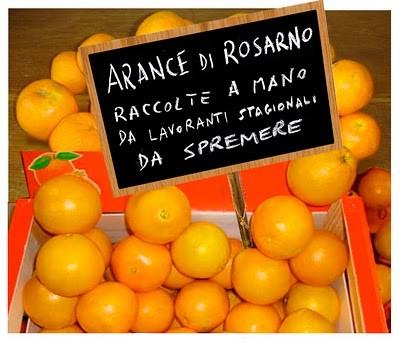 Che succede a Rosarno? Accenni sullo stato di salute dell'agrumicoltura calabrese.