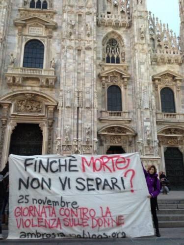 25 novembre- contro la violenza sulle donne