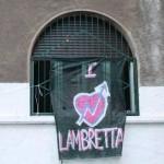 Collettivo lambretta: libera di nuovo le quattro villette di p.zza Ferravilla!