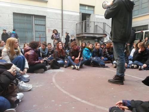 Occupazione del casc liceo artistico di brera for Liceo di moda milano