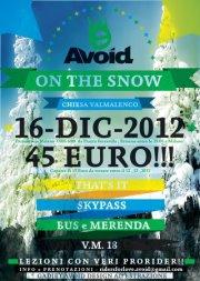 """6.00/19.00 16 dicembre 2012 aVOid DESigN presenta """"Support your local spot"""""""