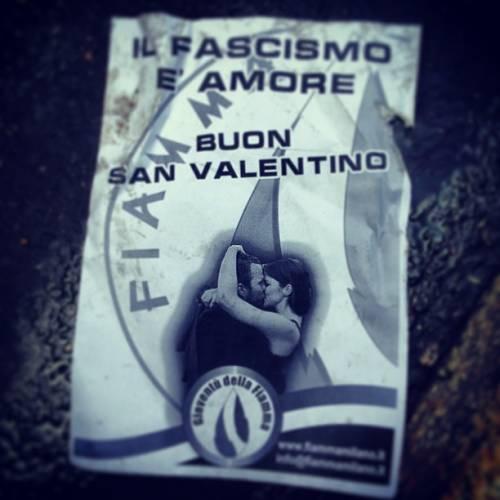 Fascisti della Fiamma Tricolore cacciati dal Liceo Manzoni (foto e video)!