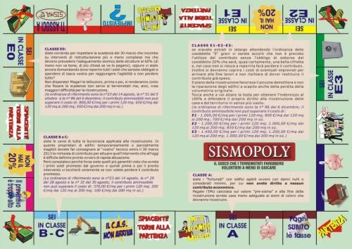 Sismopoly,un gioco per dare una scossa dopo le scosse.