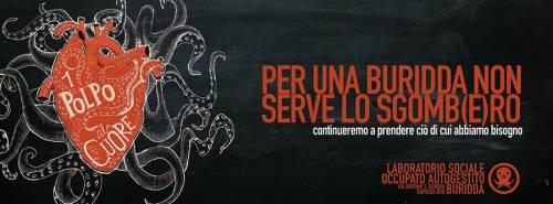 """Comunicato """"1polpoalcuore"""" – Laboratorio Sociale Occupato Autogestito, Genova"""