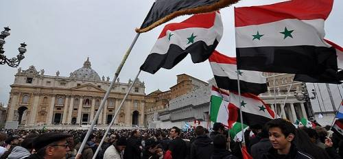 I neofascisti europei pro-Assad a Roma il 15 giugno