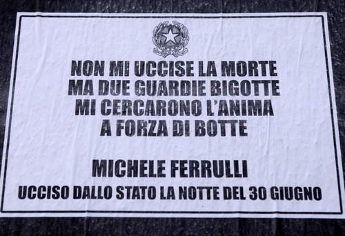 30 Giugno, fiaccolata per Michele Ferrulli