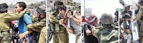 Un normale momento di repressione in Palestina