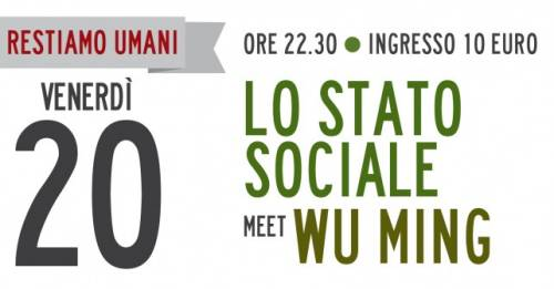 Un'intervista, video,  a Wu Ming e allo Stato Sociale
