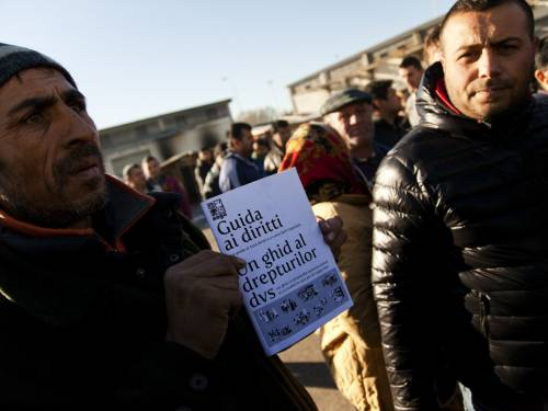 MdS – Naga: racconti dopo lo sgombero nella zona Montefeltro Brunetti