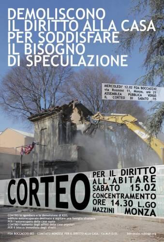 Monza, per il diritto alla casa!