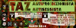 TEMPORARY AUTONOMOUS ZONE || TAZ ANTIPROIBIZIONISTA E ANTISESSISTA 7 e 8 MARZO || MILANO || DOVE? STAY TUNED | @ Milano || Stay Tuned